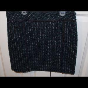 Loft Winter Pencil Skirt
